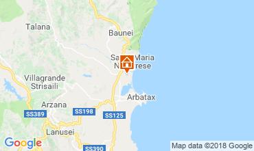 Map Lotzorai Villa 37184