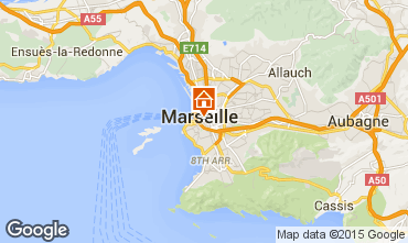 Map Marseille One-room apartment 5953