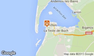 Map Arcachon Villa 19333