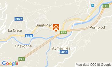 Map Saint Pierre Apartment 115958