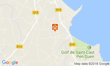 Map Saint Cast Le Guildo House 113632