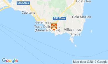 Map Solanas Villa 95781