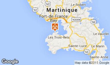 Map Trois Ilets Apartment 79020