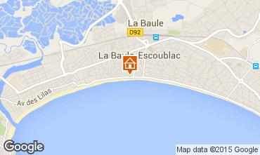 Map La Baule Apartment 7218