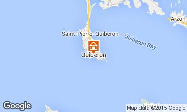Map Quiberon Apartment 50989