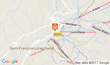 Map Saint François Longchamp Apartment 92573