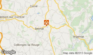 Map Brive-la-Gaillarde Chalet 99381