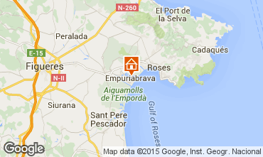 Map Empuriabrava House 94372