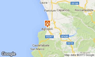 Map Agropoli Apartment 34155
