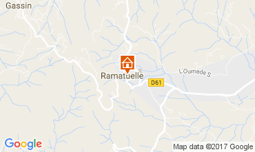 Map Ramatuelle Mobile home 107839