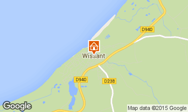 Map Wissant One-room apartment 54880