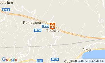Map Santo Stefano al Mare Apartment 61681