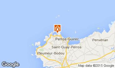 Map Perros-Guirec One-room apartment 16295