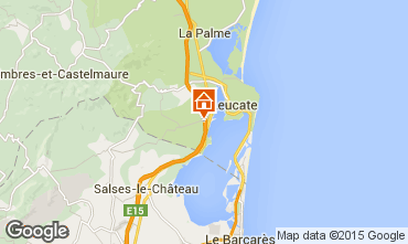 Map Port Leucate House 29598