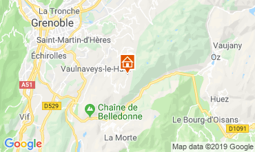 Map Chamrousse Chalet 742