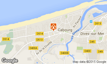 Map Cabourg Apartment 69564