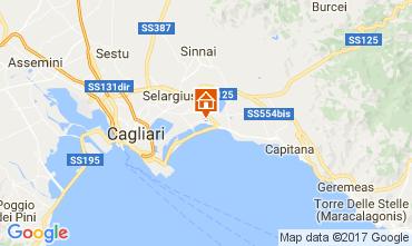 Map Quartu Sant'Elena Bed and breakfast 103733