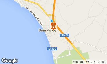 Map Gallipoli Apartment 93898