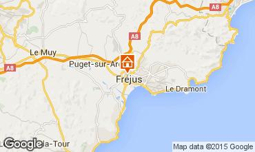 Map Fréjus Apartment 100969