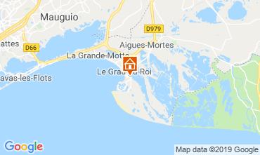 Map Le Grau du Roi One-room apartment 93396