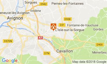 Map Isle sur la Sorgue House 113943