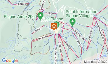 Map La Plagne Chalet 118998