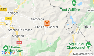 Map Sixt Fer à Cheval Chalet 116957