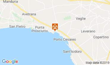 Map Porto Cesareo Apartment 117577