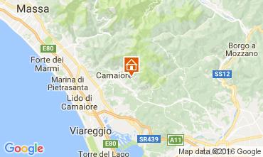 Map Camaiore Villa 107085