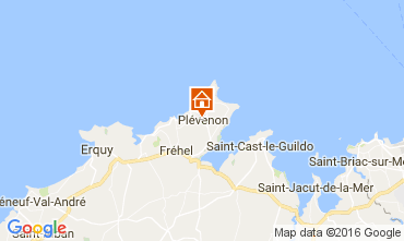 Map Frehel Vacation rental 106911