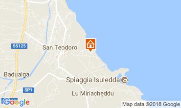 Map San Teodoro Apartment 113879