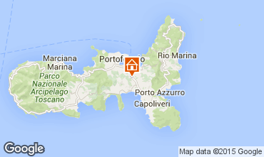 Map Portoferraio One-room apartment 68655