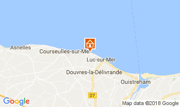 Map Saint-Aubin-sur-Mer House 112950