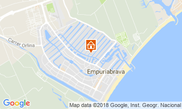 Map Empuriabrava Villa 94112