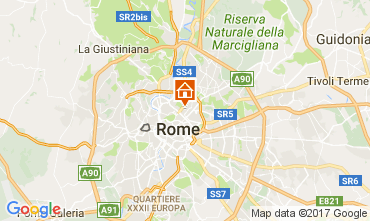 Map Rome Apartment 109687
