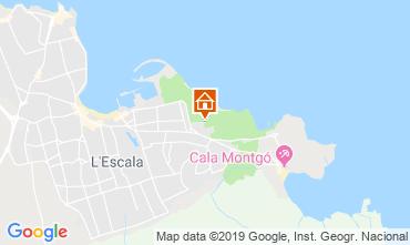 Map L'escala Apartment 118670