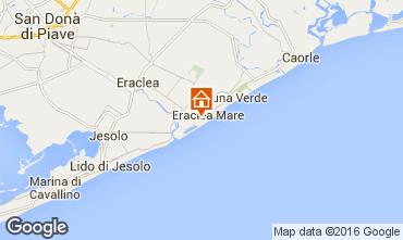 Map Eraclea Mare Apartment 90467