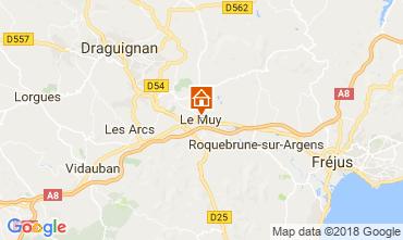 Map Roquebrune sur Argens Apartment 115227