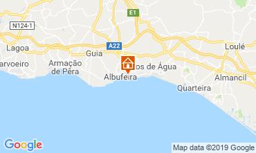 Map Albufeira Apartment 81595