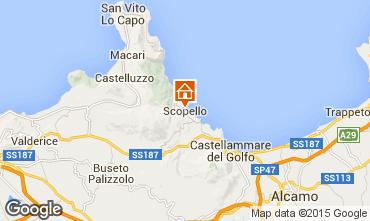 Map Scopello Apartment 76735