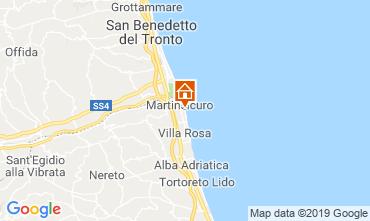Map Martinsicuro Apartment 95694