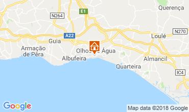 Map Albufeira Apartment 116318