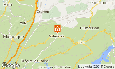 Map Valensole Villa 73835