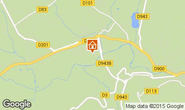 Map Apt Vacation rental 76034