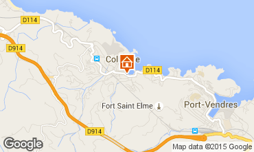 Map Collioure One-room apartment 96405