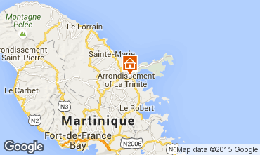 Map Trinité One-room apartment 25327