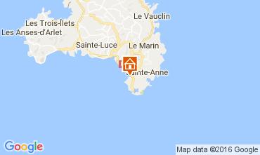 Map Sainte Anne (Martinique) Apartment 26921