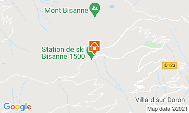 Map Les Saisies Apartment 112846