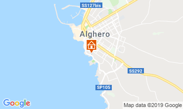 Map Alghero Apartment 114225