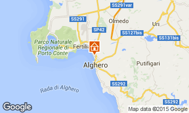 Map Alghero Apartment 94404